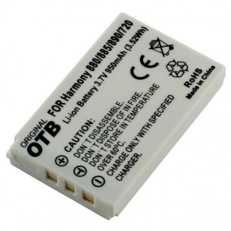OTB - Batterij voor Logitech Harmony 900 / 880 / 885 / 890 / 720 Li-Ion - Vaste telefonie accu's - ON2318 www.NedRo.nl