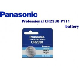 Panasonic - 1x Panasonic Professional CR2330 P111 BL033 - Button cells - BL033 www.NedRo.us