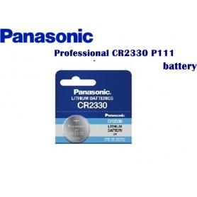 Panasonic - Panasonic Professional CR2330 P111 265mAh 3V - Button cells - BL033 www.NedRo.us