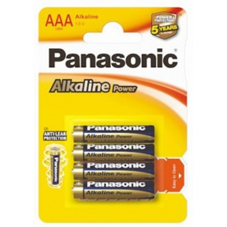 Panasonic - Panasonic Alkaline Power LR03/AAA - AAA formaat - BL039-CB www.NedRo.nl