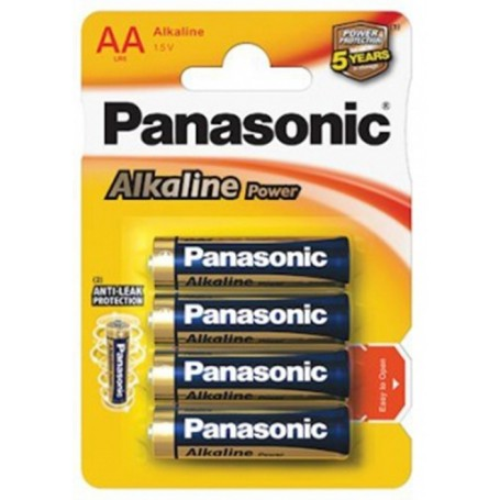 Panasonic, Panasonic Alkaline Power LR6/AA, Size AA, BL040-CB