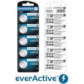 EverActive, everActive CR2032 225mAh 3V Lithium batterij, Knoopcellen, BL053-CB, EtronixCenter.com