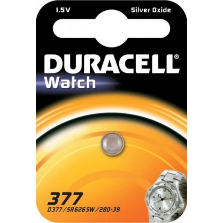 Duracell - Duracell 377-376 / G4 / SR626SW button battery - Button cells - BS086-CB