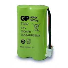 Rechargeable battery for cordless telephones GP T382 BL025