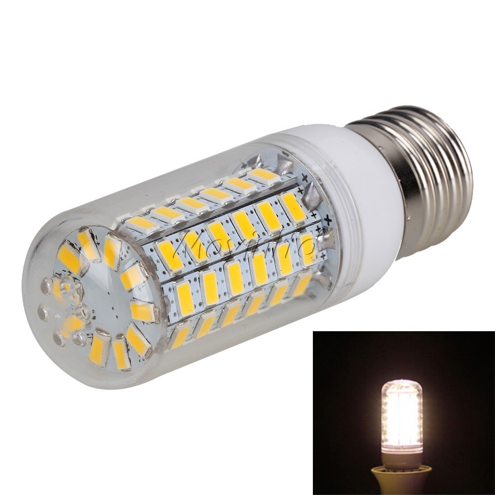 NedRo - 18W E27 Warm White 56 LED`s SMD5730 Corn Bulb AL117 - E27 LED - AL117 www.NedRo.ro