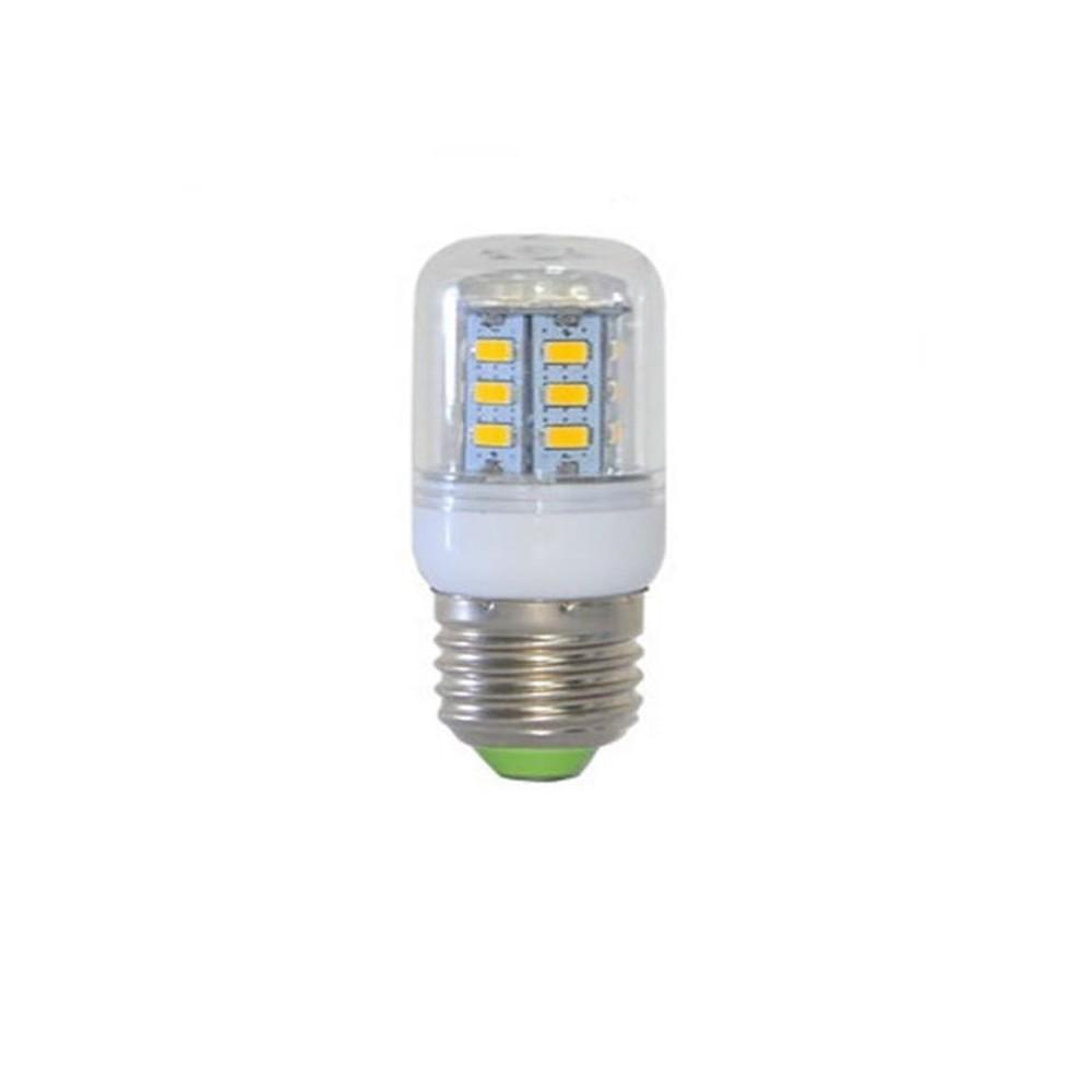 NedRo - 7W E27 Warm White 24 LED`s SMD5730 Corn Bulb AL123 - E27 LED - AL123 www.NedRo.ro