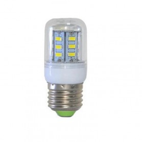 7W E27 Cold White 24 LED`s SMD5730 Corn Bulb AL124
