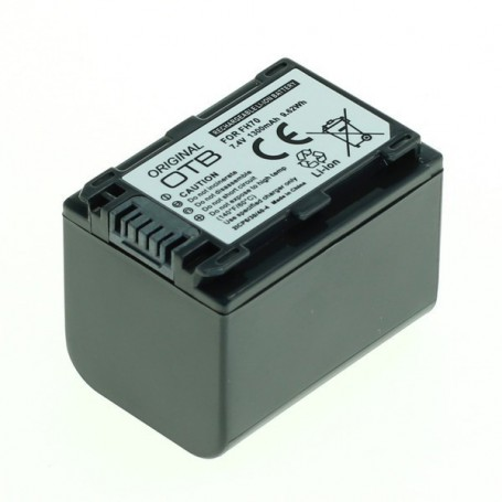 OTB, Battery for Sony NP-FH70 / NP-FP70 Li-Ion 1300mAh ON2585, Sony photo-video batteries, ON2585