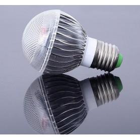 Offer € 6.99 - 9W E27 RGB LED bulb with remote CG007