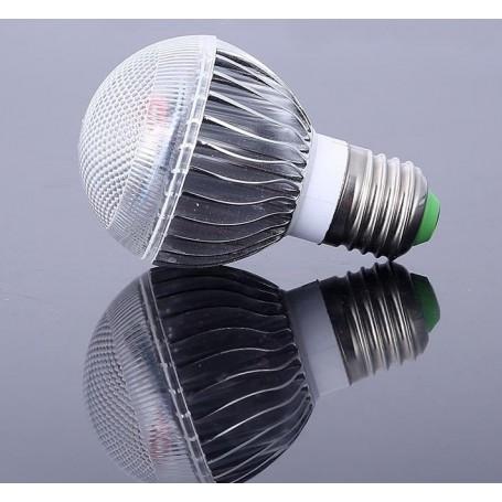 unbranded, Offer € 6.99 - 9W E27 RGB LED bulb with remote CG007, E27 LED, CG007-CB