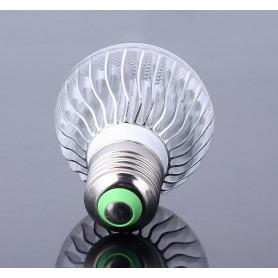NedRo - Oferta Bec LED 9W E27 RGB cu telecomanda CG007 - E27 LED - CG007 www.NedRo.ro