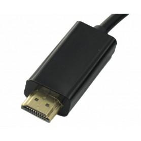 NedRo - DisplayPort naar HDMI Male kabel Male 1.5 meter YPC299 - HDMI kabels - YPC299-C www.NedRo.nl