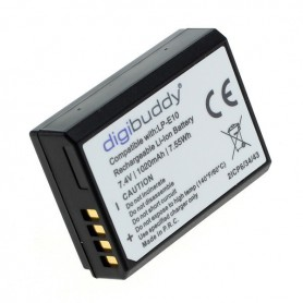 digibuddy - Battery for Canon LP-E10 1020mAh LI-ION ON3219 - Canon photo-video batteries - ON3219-C www.NedRo.us