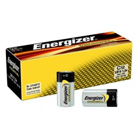 Energizer, Energizer Industrial LR14 C alkaline battery, Size C D 4.5V XL, BL106-CB