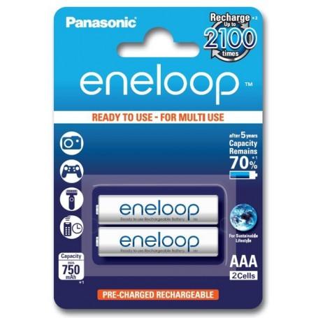 Eneloop - Panasonic Eneloop R3 AAA Rechargeable Battery - Size AAA - BS285-CB