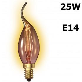 Calex, Edison Line Vintage 25W E14 110 LUM Tip-kaars CA011, Vintage Antiek, CA011, EtronixCenter.com