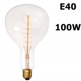 Calex, XXL Edison Line Vintage 100W E40 Bec Decorativ 180 LUM CA025, Vintage Antic, CA025, EtronixCenter.com