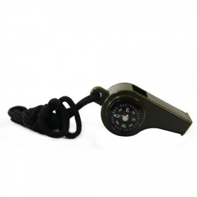 Unbranded - 3 In 1 Survival Whistle with Compass Thermometer AL046 - Highly discounted - AL046 www.NedRo.us