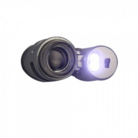 NedRo - 45X Mini Pocket Microscope Magnifier LED Loupe Jeweler - Magnifiers microscopes - AL019 www.NedRo.us