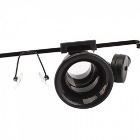 NedRo - 20x-Zoom Magnifier Glasses With LED Light - Magnifiers microscopes - AL267 www.NedRo.us