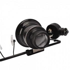 NedRo - 20x-Zoom bril type vergrootglas voor reparaties - Loepen en Microscopen - AL267 www.NedRo.nl