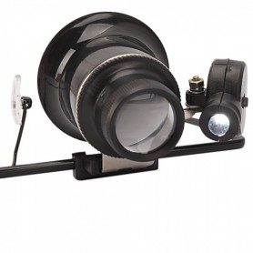 Oem - 20x-Zoom Magnifier Glasses With LED Light - Magnifiers microscopes - AL267