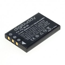 digibuddy - Accu voor Fuji NP-60 Casio NP-30 KLIC-5000 A1812A - Casio foto-video batterijen - ON2661-C www.NedRo.nl