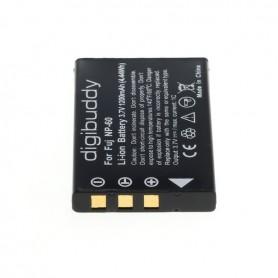 digibuddy, Accu voor Fuji NP-60 Casio NP-30 KLIC-5000 A1812A, Casio foto-video batterijen, ON2661, EtronixCenter.com