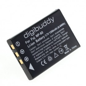 digibuddy - Battery for Fuji NP-60 Casio NP-30 KLIC-5000 A1812A - Casio photo-video batteries - ON2661