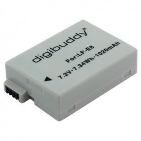 digibuddy - Accu voor Canon LP-E8 1020mAh ON2665 - Canon foto-video batterijen - ON2665 www.NedRo.nl
