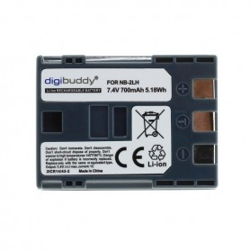 digibuddy - Battery for Canon NB-2LH 700mAh ON2668 - Canon photo-video batteries - ON2668 www.NedRo.us