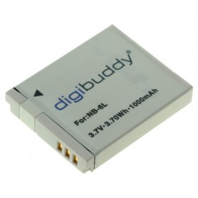 digibuddy - Battery for Canon NB-6L 1000mAh ON2671 - Canon photo-video batteries - ON2671-C www.NedRo.us