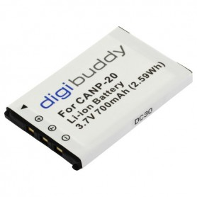 Battery for Casio NP-20 Li-Ion 700mAh