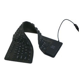 Full-Size Flexible USB or PS2 keyboard