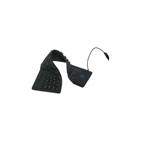 NedRo - Full-Size Flexible USB or PS2 keyboard - Various computer accessories - YPM003 www.NedRo.de