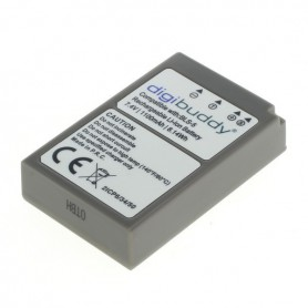 digibuddy - Battery for Olympus BLS-5 BLS-50 1100mAh - Olympus photo-video batteries - ON2686 www.NedRo.us