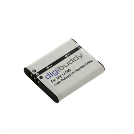 digibuddy - Battery for Olympus LI-50B Pentax D-Li92 DB-100 ON2687 - Olympus photo-video batteries - ON2687