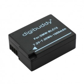 Battery for Panasonic DMW-BLC12 1000mAh