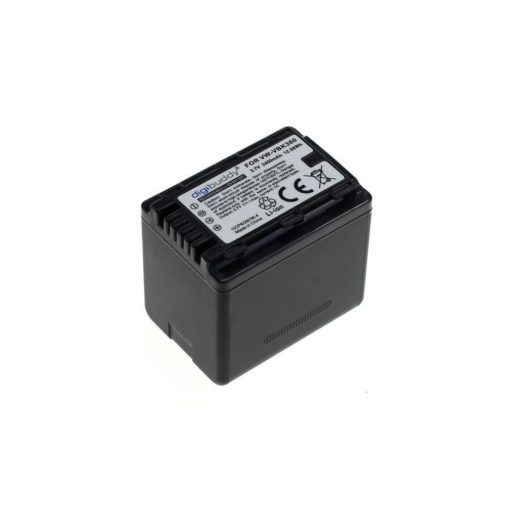 OTB - Battery for Panasonic VW-VBK360 1700mAh ON2695 - Panasonic photo-video batteries - ON2695-C www.NedRo.de