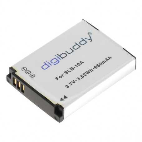 digibuddy, Battery for Samsung SLB-10A JVC BN-VH105 1000mAh, JVC photo-video batteries, ON2701