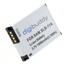 digibuddy - Acumulator pentru Samsung SLB-11A 1000mAh - Samsung baterii foto-video - ON2702 www.NedRo.ro