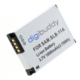 digibuddy - Battery for Samsung SLB-11A 1000mAh - Samsung photo-video batteries - ON2702 www.NedRo.us