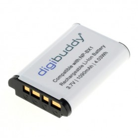 digibuddy - Battery for Sony NP-BX1 1090mAh Li-Ion - Sony photo-video batteries - ON2703 www.NedRo.us