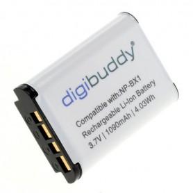 digibuddy - Accu voor Sony NP-BX1 1090mAh Li-Ion - Sony foto-video batterijen - ON2703-C www.NedRo.nl