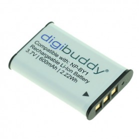 digibuddy - Accu voor Sony NP-BY1 600mAh ON2704 - Sony foto-video batterijen - ON2704 www.NedRo.nl