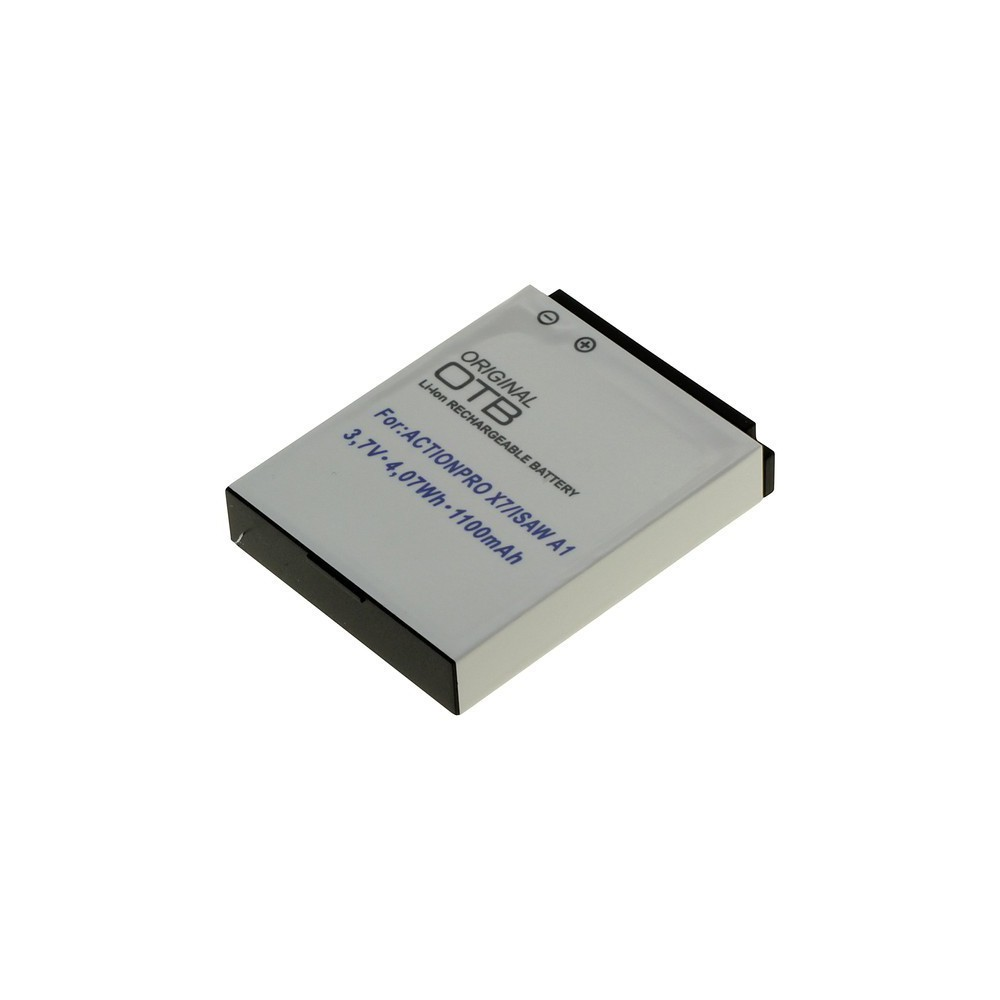 OTB - Accu voor Actionpro X7 Isaw A1/A2Ace/A3/ Extreme ON2710 - Andere foto-video batterijen - ON2710 www.NedRo.nl