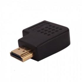 NedRo, Haakse 90 graden bocht HDMI M naar F adapter WW81005255, HDMI adapters, WW81005255, EtronixCenter.com