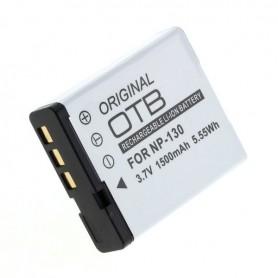 OTB, Accu voor Casio NP-130 1500mAh, Casio foto-video batterijen, ON2733, EtronixCenter.com
