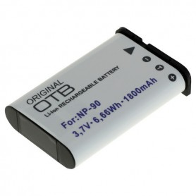 OTB - Accu voor Casio NP-90 1800mAh ON2734 - Casio foto-video batterijen - ON2734-C www.NedRo.nl