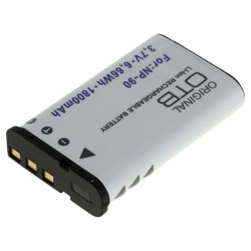 OTB - Battery for Casio NP-90 1800mAh ON2734 - Casio photo-video batteries - ON2734-C www.NedRo.us